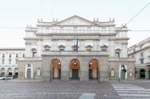 La scala teatro en Milan