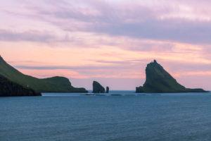 Isla de Vagar en Islas Feroe