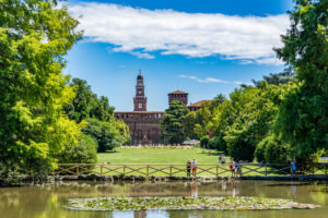 zonas verdes de Milan
