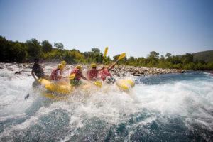 Hacer rafting en Cuenca