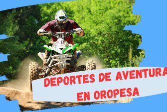 DEPORTES DE AVENTURA EN OROPESA DEL MAR